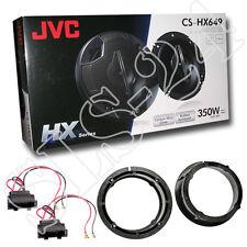 JVC Haut-parleurs Set VW Golf IV Passat 350 W Boxe Haut-Parleur Anneaux Voiture Adaptateur