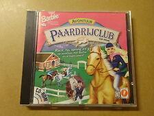 PC GAME / BARBIE: PAARDRIJCLUB AVONTUUR (CD-ROM)