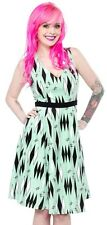Sourpuss Retro Diamonds Dress Mint Rockabilly Pin Up Bettie Retro Swing 2XL