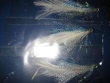 3 V Fly Size 2/0 Predator Flying Fish Tarpon Bait Fish Saltwater Flies