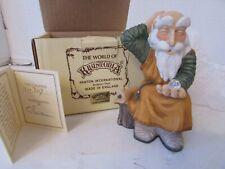 World Of Krystonia Figurine Kephren #2702 W/Crystal Box & Certificate England