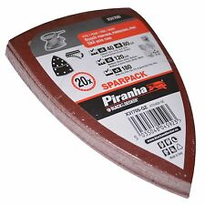 20 bandes abrasives papier pour Bosch Mutli Ponceuse multi PSM160A PSM 80