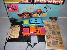 1972 Kenner SSP Smash Up Derby Set Complete In Box With Vintage Ad