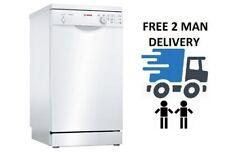 Bosch SPS24CW00G Serie 2 Slim 45cm White 9 Place Dishwasher + 2 Year Warranty