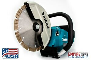 "Makita Brushless 9"" (blade included) Power Cutter (18 Volt) 4 batteries included"