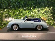Schuco Porsche 356A Speedster Blue 1/43