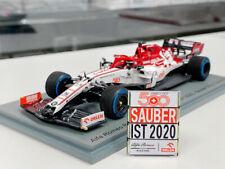 1:43rd Alfa Romeo Racing C39 Kimi Raikkonen Turkish GP Sauber 500th Race