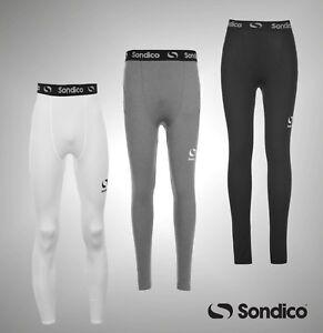 Boys Sondico Compression Core Tights Base Layer Sizes Age 3-13