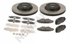 2 Front Disc Brake Rotors & Pads & Shims Kit fits Genuine Toyota Corolla Matrix