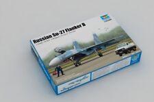 RUSSIAN SU-27 FLANKER B KIT Trumpeter 1:144 TR03909 Model