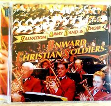NEW SEALED - THE SALVATION ARMY - ONWARD CHRISTIAN SOLDIERS Brass Band Music CD