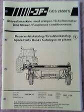 Catálogo De Piezas Cortadora de disco GCS2800TS jf