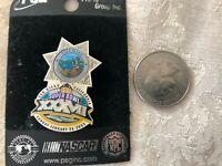 Súper Cuenco Xxxvii / Sheriff Pin de Solapa San Diego , California