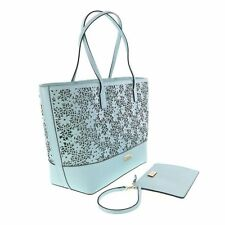 new Kate Spade Bradford Court Small Margareta Floral Tote Bag Blue NWT$358; Sale
