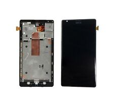 Glass Display Panel LCD w Frame Assembly for Nokia Lumia 1520