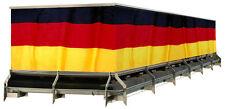 1 Balkonsichtschutz Deutschland 90 x 300 cm Fahne Banner Sichtschutz WM EM Party