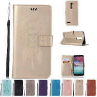 Flip Cover Leather Card Wallet Case Strap Stand Magnetic For ZTE Zmax Pro Z981