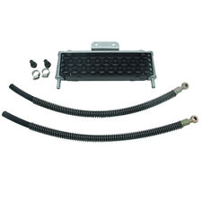 Motorcycle Oil Cooler 4 Rows Mesh Big Size For 50cc-160cc Oil-cooled Engines