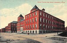 Manual Training High School Indianapolis Indiana c1910 Postcard