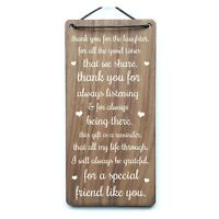 Inspiration Gift For Your Best Friends Thank You Laughter Leaving Present