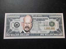 Bruce Willis $1 Million Dollar Note Novedad Bill $1,000,000 Die Hard Sin City