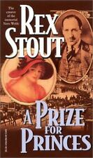 A Prize for Princes by Rex Stout (2001, Paperback) Mystery Thriller Suspense