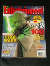 ENTERTAINMENT WEEKLY 2005, Star Wars Special Edition, Yoda, Pop Culture Quiz
