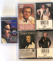 George Jones - Still Same 'ole Me, Super Hits 1990s Country LOT 5 Audio Cassette