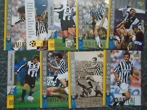 Juventus centenary history basic set of 90 cards Upper Deck 1998 baggio zidane