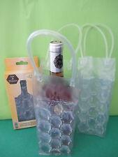 lot de 2 sacs rafraîchisseurs pour bouteille de vin