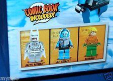 LEGO 76001 SUPER HEROES DC Universe Arctic Batman vs. Mr. Freeze Aquaman on Ice