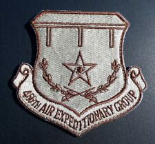 "USAF PATCH 466TH AIR EXPEDITIONARY GROUP 3"" x 3 1/4"" Military Patch USA AIRFORCE"