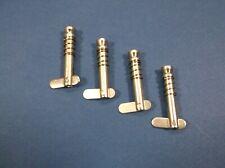 2 BBT Black Nylon /& Stainless Steel Bimini Top Hinge Screws w//Lanyards