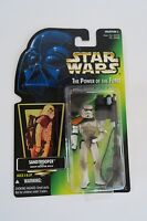 Star Wars Power of the Force Sand trooper Green Collection 1 *BRAND NEW* Hasbro