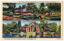 USA PHILADELPHIA PA Zoologischer Garten / Zoo / Bird House * AK um 1950