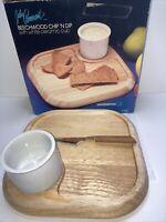 Beechwood Chip N Dip Julie Pomerantz White Ceramic Cup 636 NIB Goodwood