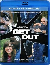 Get Out (Blu-Ray Disc, 2017) Daniel Kaluuya, Allison Williams, Bradley Whitford