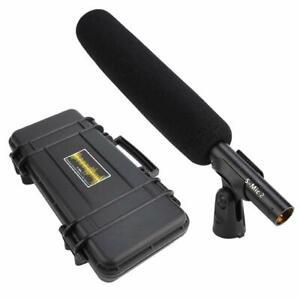 DEITY S-Mic 2 Broadcast Shotgun Microphone Super Low Noise Anti-shake Mount New