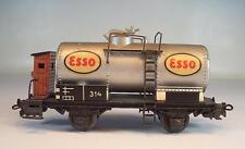 Märklin H0 314E Kesselwagen ESSO Guß 2-achsig 2~Wechselstrom Keine OVP #5531