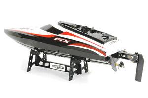 "FTX Vortex BLACK RC Speed Boat - Ready To Run 44cm/18"" inc Bat,Handset,Crgr"