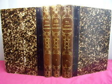LA BIBLE traduction de la Vulgate (ancien testament) Le Maistre de Sacy 3/3 vols