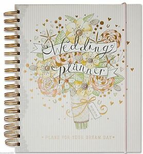 Deluxe Wedding Planner Book Diary Journal Organiser - Engagement gift