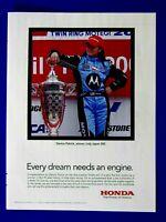 "Danica Patrick 2008 Honda Original Print Ad 8.5 x 11"""