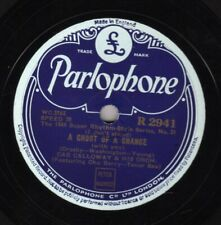 RARE 1944 CAB CALLOWAY 78 A GHOST OF A CHANCE /WILLOW WEEP FOR ME PARL. R 2941 E
