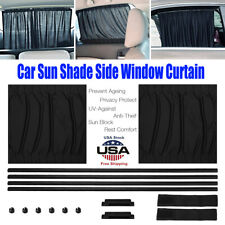 Car Sun Shade Side Window Curtain Auto Foldable UV Protection Accessories Kit US