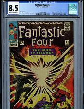 Fantastic Four #53 CGC 8.5 1966 Marvel Comic Amricons 2nd Black Panther K18