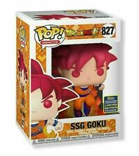 Funko Pop! SSG Goku SDCC 2020 Hot Topic Shared Exclusive IN HAND Ships Fast