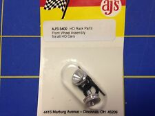 AJ'S 3400 Front Wheel Assembly for all  HO cars from Mid-America Raceway