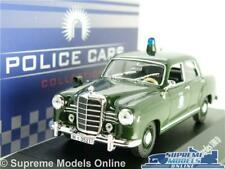MERCEDES 180D POLICE MODEL CAR 1:43 SCALE IXO ATLAS 7598002 POLIZEI 180 D K8