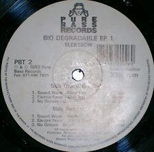 ELEKTRON BIODEGRADABLE EP 1  SOUND WAVE / ELECTRO FEVER / NU GROOVE - 1992 PBT 2